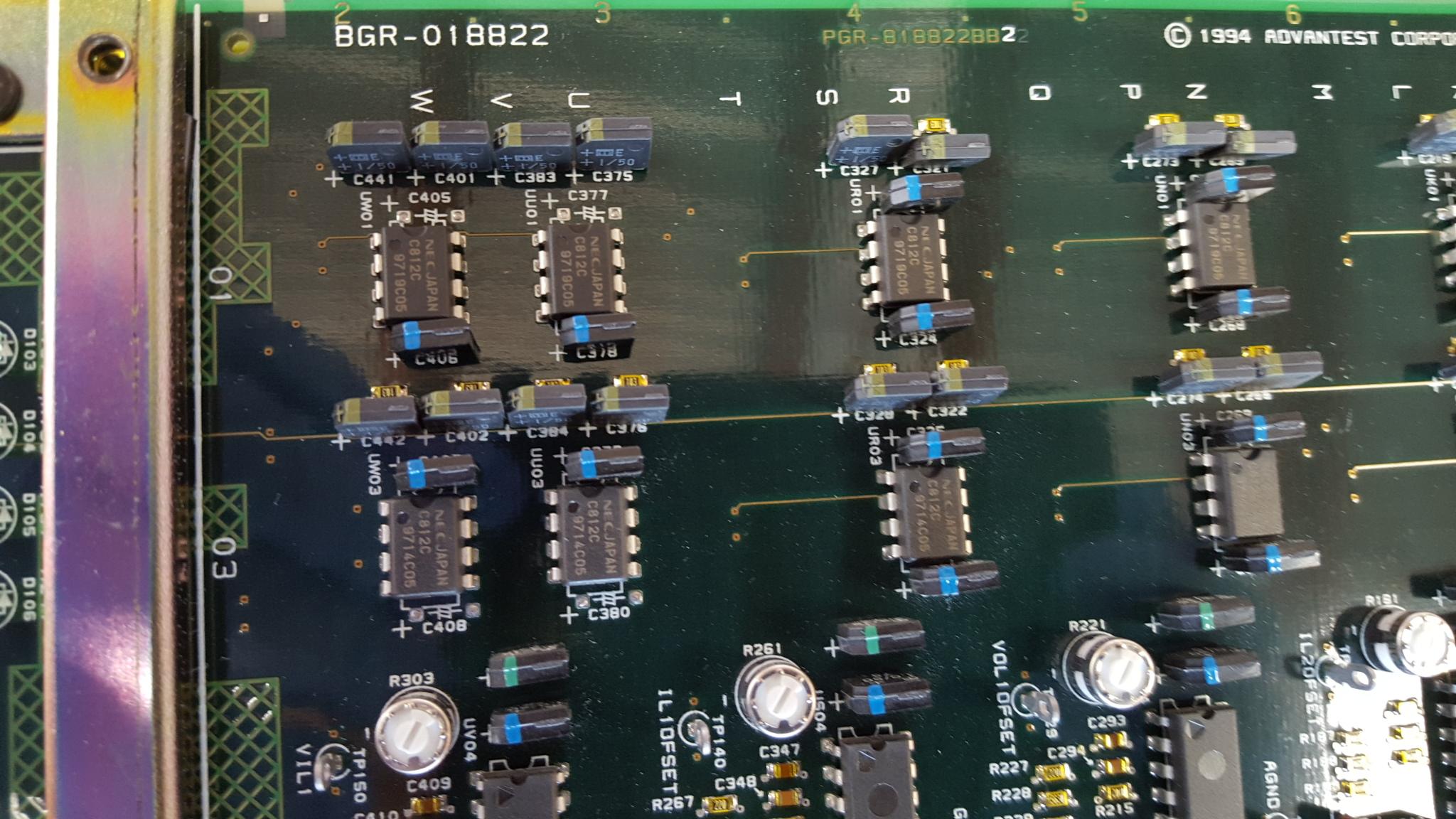 For Sale Dual Air Zenith Ob1 Compressor Wiring Diagram Advantest Bgr 018822 T5335p Pc Board